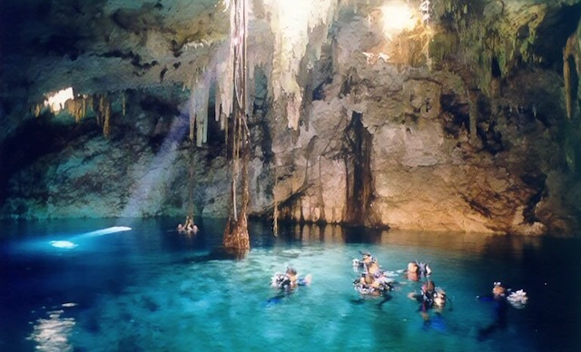 Cenotes Cavern Diving